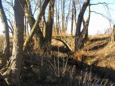 Kamenný můstek přesKolešovický potok