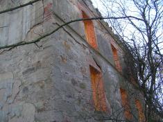 Zbytky bývalého parního mlýna